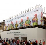 Outdoor Scaffold Banner