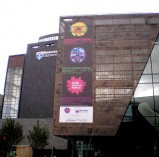 Into Building Banner